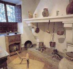 Cocina de la Casa de Cervantes