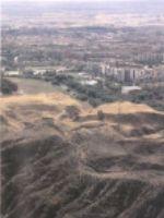 Alcalá desde el cerro Ecce Homo, donde se observan las ruinas árabes de Qal´at Abd al-Salam