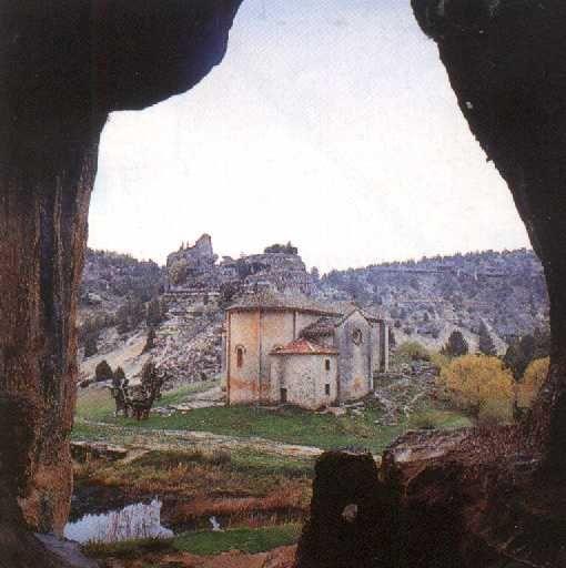 Vista desde el interior de la Cueva Grande