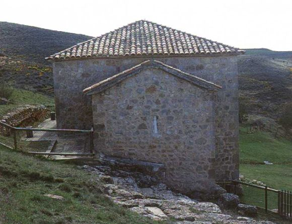 Interior del templo de San Baudelio de Berlanga