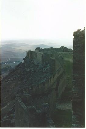 Vista desde lo alto de la muralla
